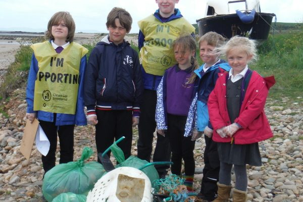 Arran beach cleans