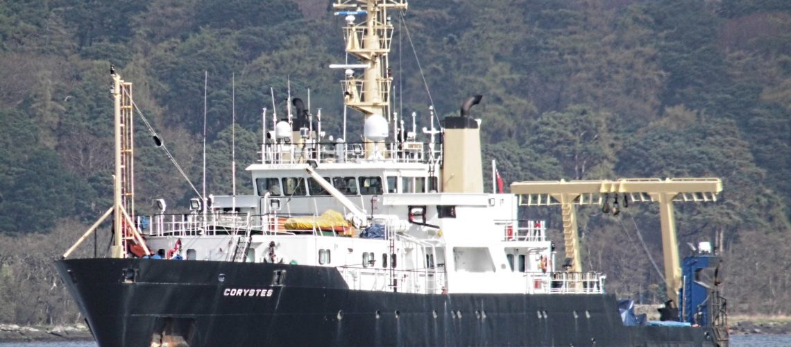 Research ship Corystes